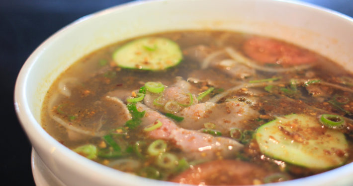 Photo of pho sate.